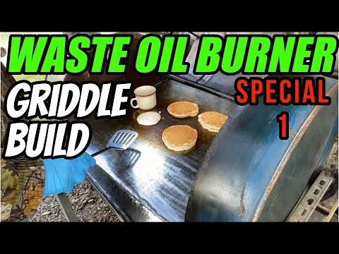 Waste Oil Burner Cook-Top, Fit & Finish