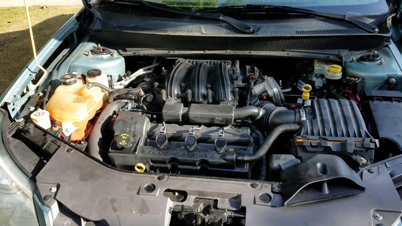 3 2 Chrysler Engine Diagram Pcv Valve Chrysler 2 7 Engine Youtube