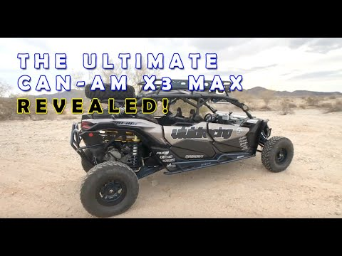 The Ultimate Can-Am X3 Max Build Walk-Around And Review