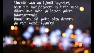 Kaija Koo - Kylmät kyyneleet lyrics