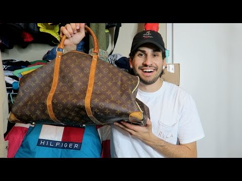 TRIP TO THE THRIFT #33: FOUND LOUIS VUITTON DUFFLE!! GOT PULLED OVER!!