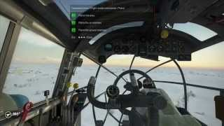 IL-2 BoS: Wintergewitter - HE-111 returns home