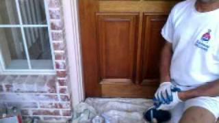 How To Refinish Your Front Door (stain Grade Wood)