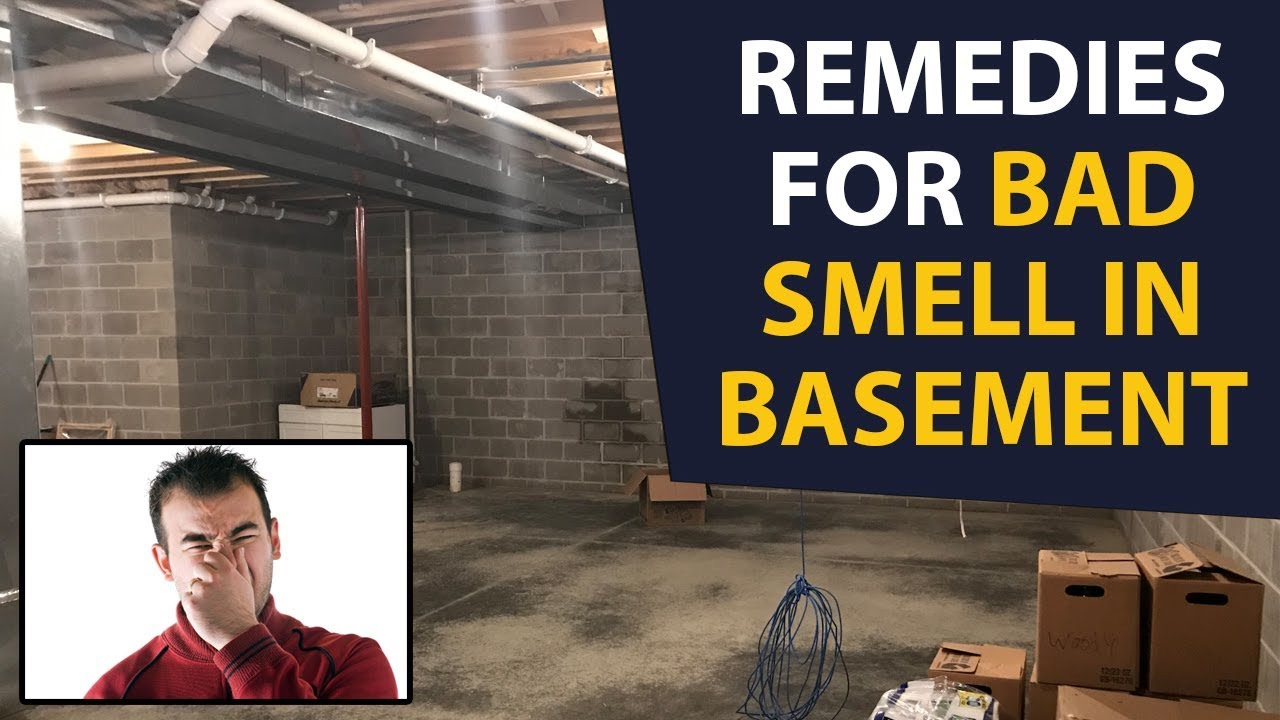 home remedies to get rid of basement smell naturally remedies for basement smell youtube. Black Bedroom Furniture Sets. Home Design Ideas