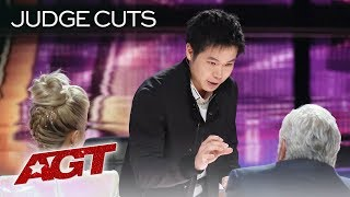 WOW! Magician Eric Chien Warps Reality With Amazing Magic Tricks - America
