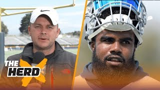 Can Cowboys get through one of the NFL's toughest schedules? Colin checks in from camp | THE HERD