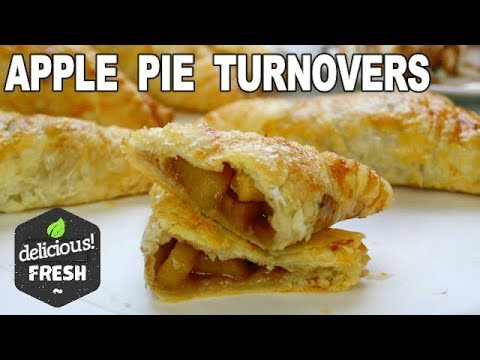 Easy Apple Pie Turnovers