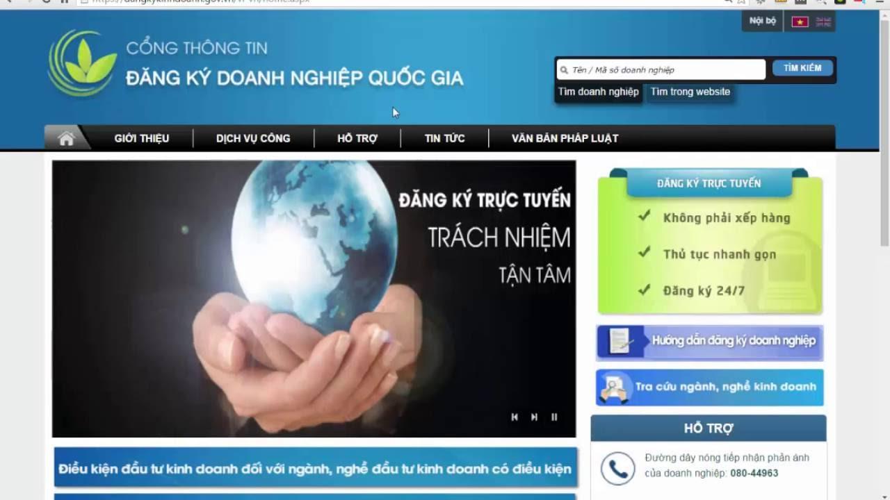 Hướng dẫn đăng ký, cập nhật tài khoản ngân hàng doanh nghiệp qua mạng điện tử