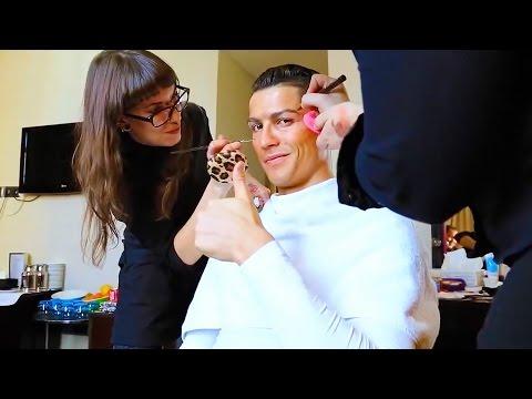 Cristiano Ronaldo VERKLEIDET sich als ALTER OPA!