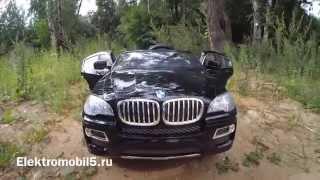 видео: BMW X6 детский электромобиль