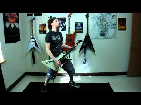 """Metallica """"The Frayed Ends of Sanity"""" Rhythm Guitar Cover"""
