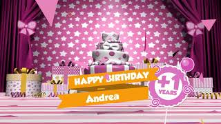 Gambar cover Happy Birthday video for her