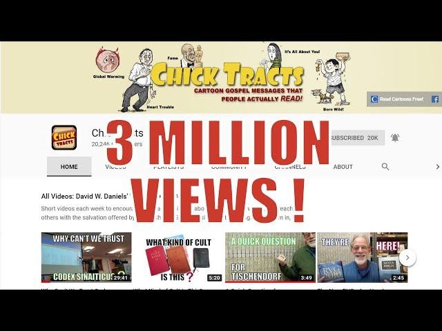 3 Million Views!