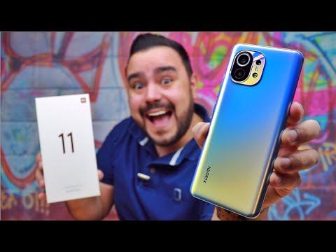 Xiaomi Mi 11 está na MÃO e EU ESTOU completamente APAIXONADO 😍