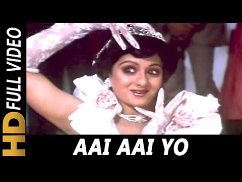 Aai Aai Yo | Asha Bhosle | Guru 1989 Songs | Mithun Chakraborty, Sridevi, Nutan