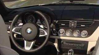 New Video BMW Z4 sDrive35i Roadster interior 2010