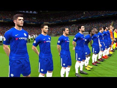 Swansea City Vs Chelsea | Premier League 28 April 2018 Gameplay