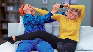 16 смешных пранков над сестрой и братом Смешные розыгрыши