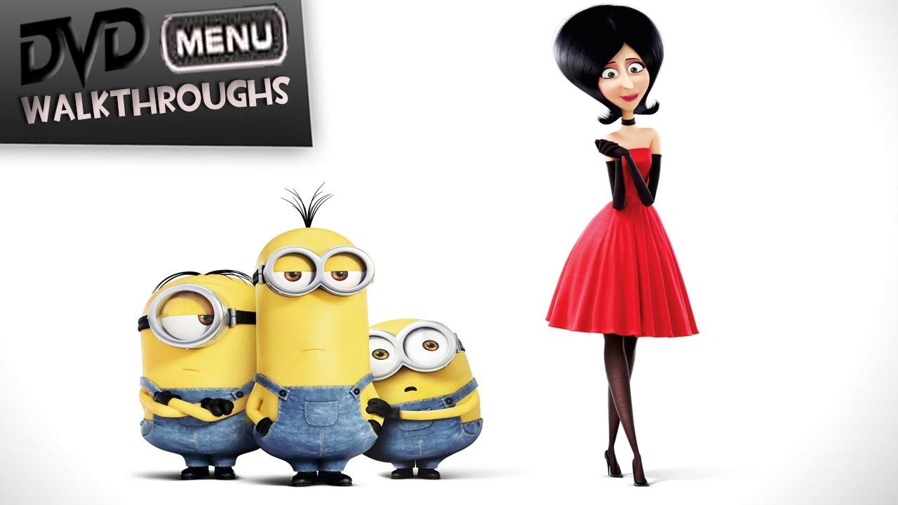 Minions 2015 Dvd Menu Walkthrough Youtube
