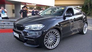 640HP HAMANN BMW X6M F86 - Start up & Accelerations!