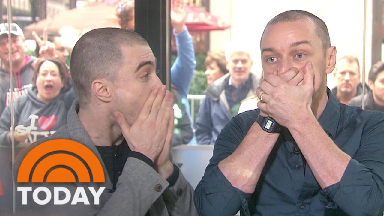 Daniel Radcliffe, James McAvoy Share Dead Giveaways On ...