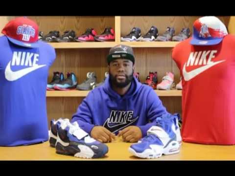 Air Max Speed Turf   Air Max Express (Giants) - Shoe Review - YouTube a7fbbd89d9