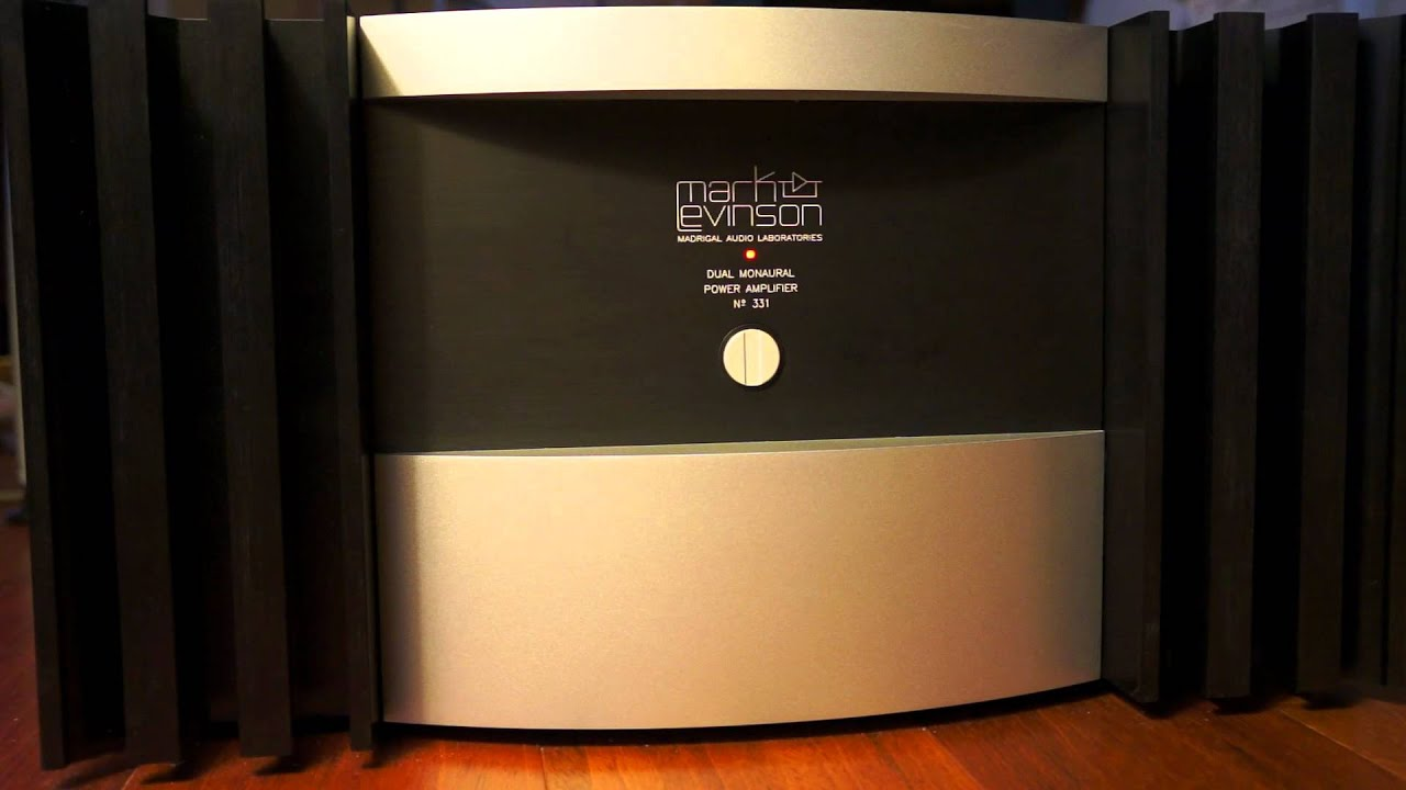 Mark Levinson No  331 Power switch MP4 - YouTube