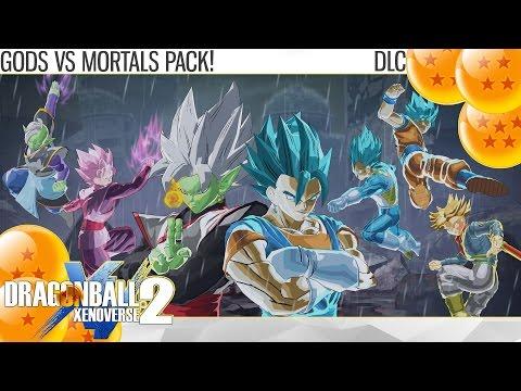 Dragon Ball Xenoverse 2 - Gods vs Mortals Trailer 1! Merged Zamasu UNLEASHED! (DLC)