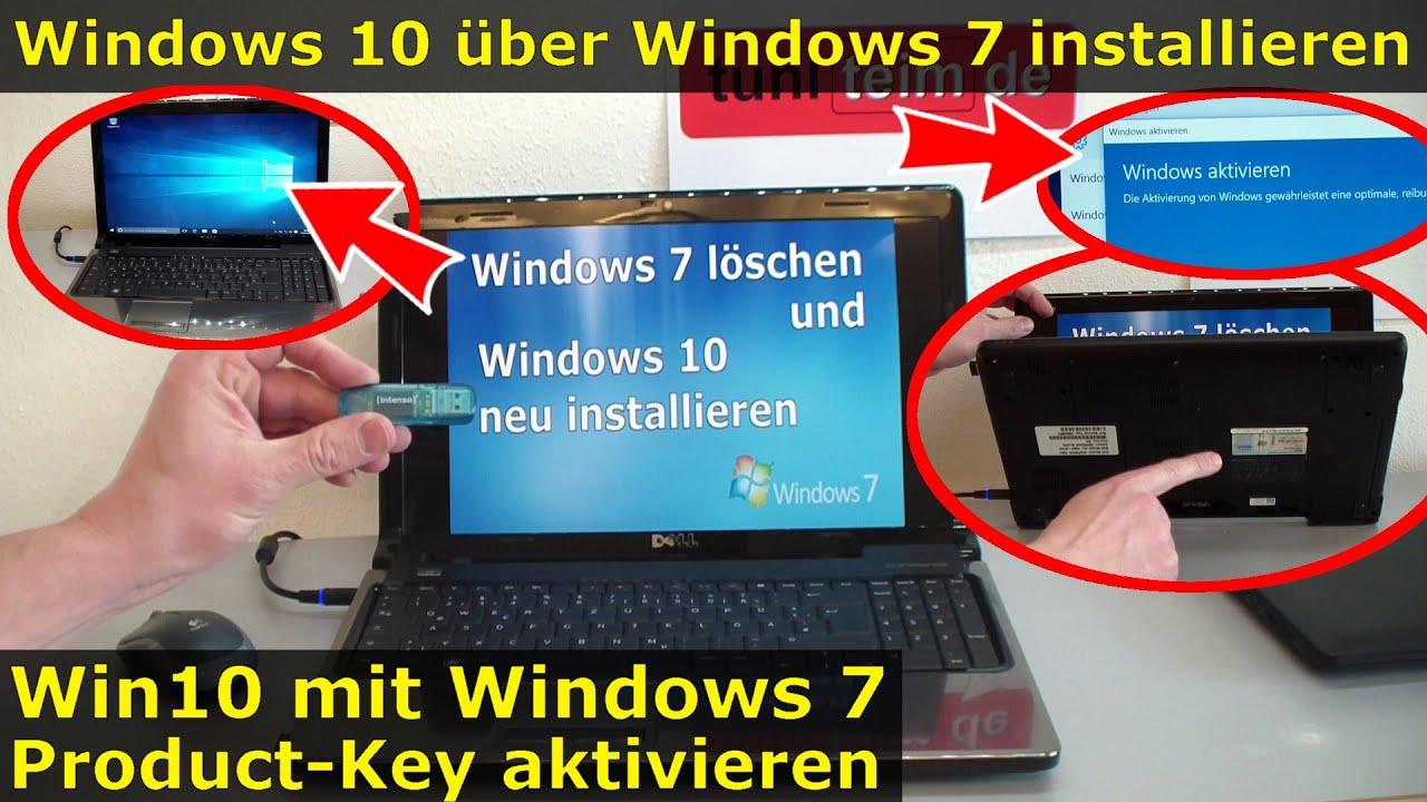 Windows 10 Mit Windows 7 Key