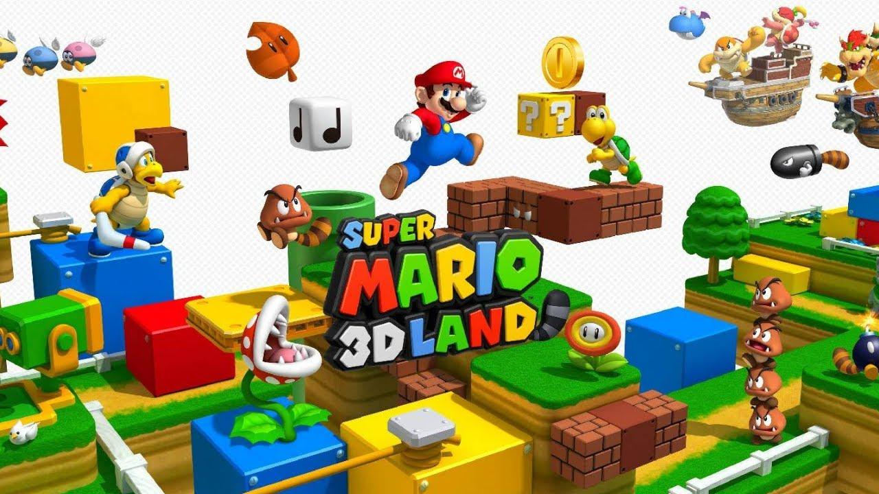 Super Mario 3D Land CIA (USA)