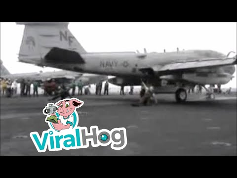 Flight Deck Fail    ViralHog