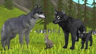 СИМУЛЯТОР МАЛЕНЬКОГО ПИТОМЦА ВОЛЧАТА Симулятор Жизни Зверей про котят лис и собак Зверей WildCraft
