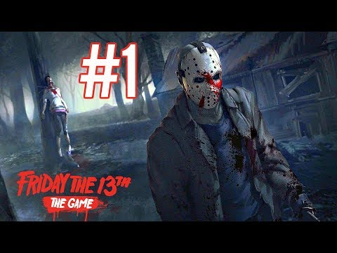 Friday The 13th The Game Walkthrough Part 1 - BRUTAL KILLS! (Ps4 Pro Gameplay HD)