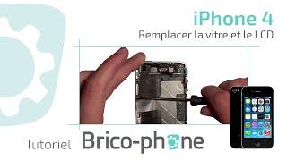 TUTORIEL Démontage + remontage iphone 4 changement vitre + LCD