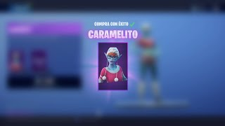 "😱🔥JUGANING WITH THE NEW SKIN ""CARAMELITO"" avec SUBS !! 🔥😱 FORTNITE BATTLE ROYALE 🤣"