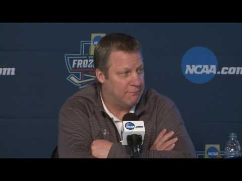 NCAA Frozen Four Pre-Title Game Press Conference (4-7-17)