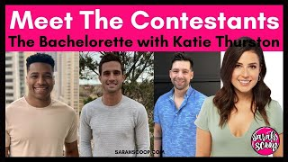 The new season of bachelorette will star katie thurston and these are men that you see on looking for love! ★read full blog...