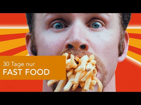 Kultfilm SUPER SIZE ME - Was passiert, wenn man nur FAST FOOD isst?