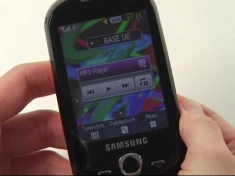 Samsung S3650 Corby Test Bedienung