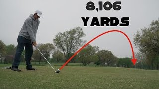 Playing What Used To Be The Longest Golf Course in The World (8,106 YARDS) - part 1