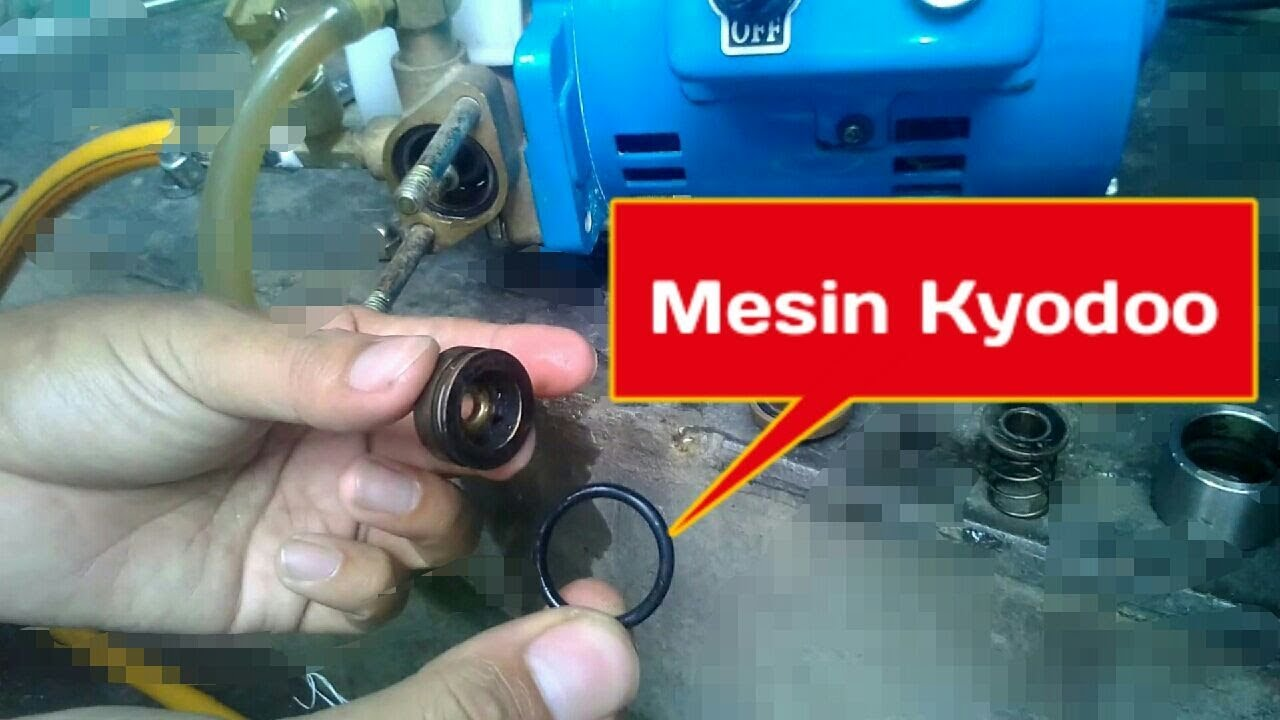Perbaikan Mesin Kyodo Jet Pump