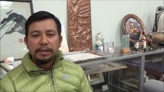 マノジ・カドカさん(ネパール出身・九州産業大学)からの、就活に取り...