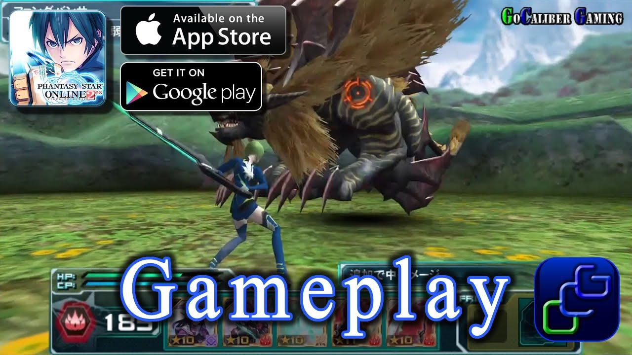 phantasy star online 2 essega android ios gameplay ファンタシー