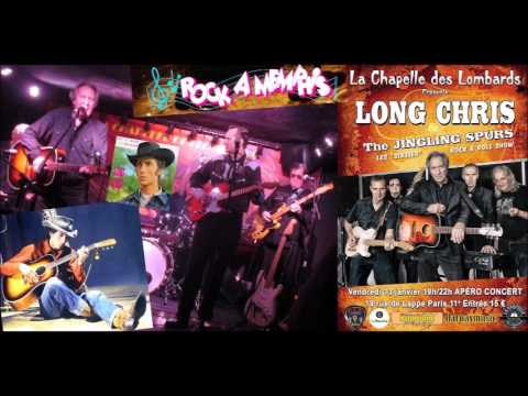 "Long Chris, ""Frankie & Johnny"" live (""Les rocks les plus terribles""), 13/01/2017 Paris."
