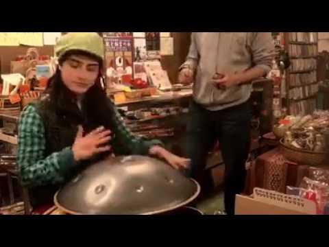 Handpan/pantam jam Kyoto by mia lev and hibiki