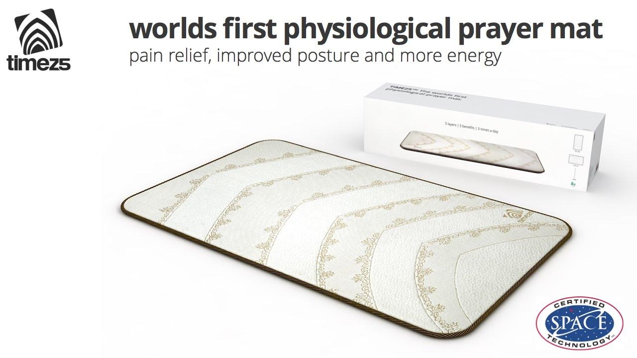 TIMEZ5 physiological prayer mat -- NASA space certified technology