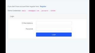 Laravel 5.6 - Prevent Block Multiple Login Of Same Credentials
