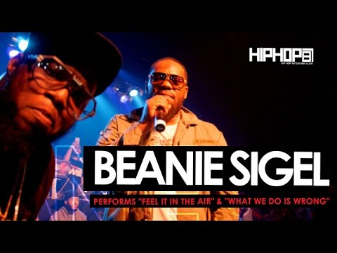 "Beanie Sigel Performs ""Feel It In The Air"" & ""What We Do Is Wrong"" (6/6/15)"