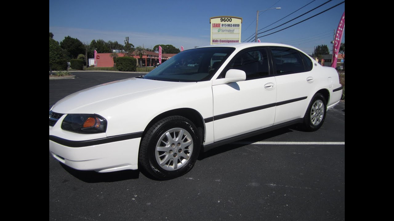Sold 2003 Chevrolet Impala One Owner Meticulous Motors Inc
