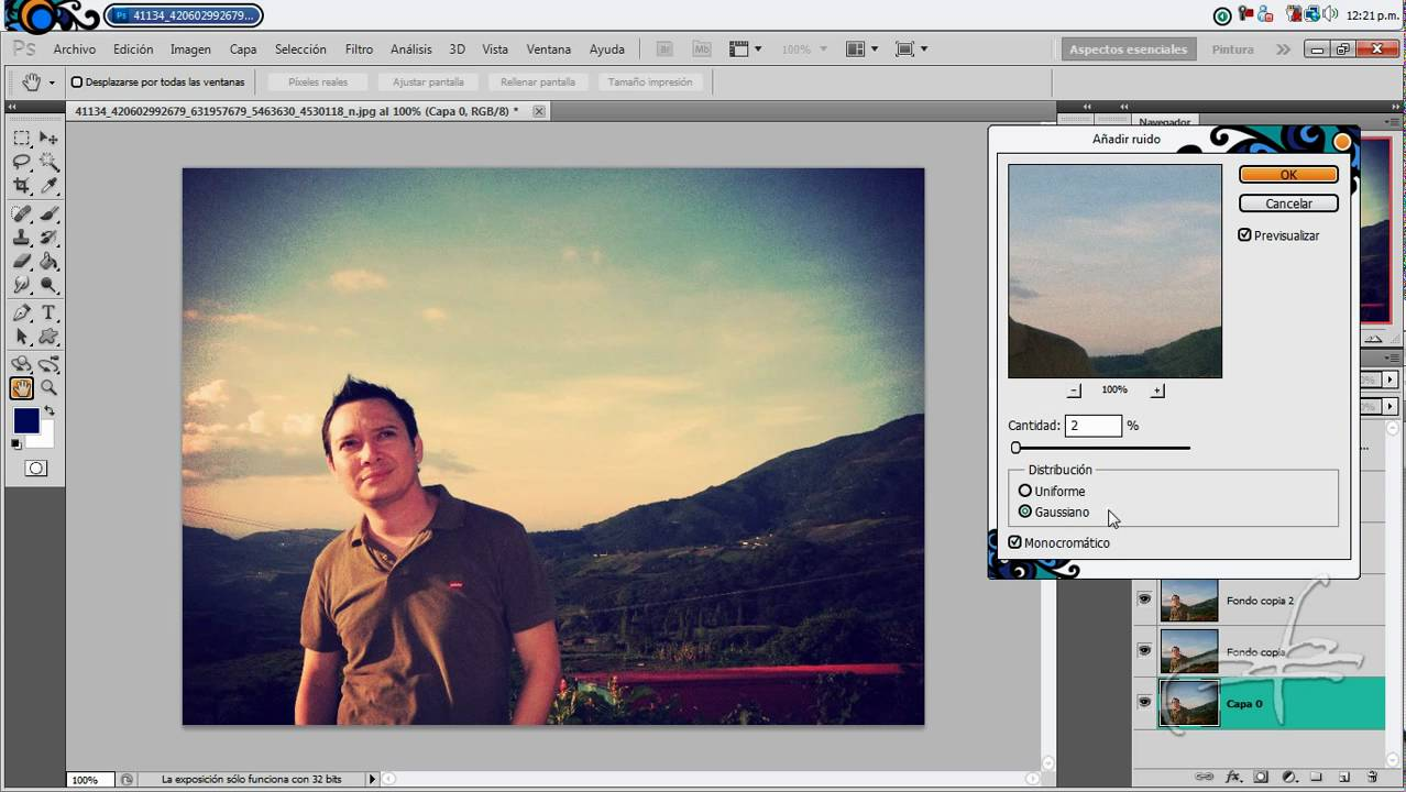 Efecto Blush Vintage - Tutorial Photoshop - YouTube